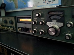 The Heathkit Lineup -  SB-303 receiver, HG-10B VFO and DX-60A transmitter.